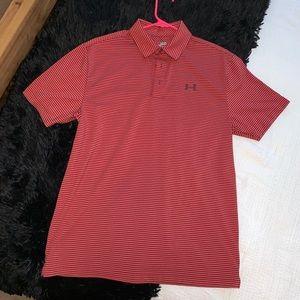 NWOT Under Armour Short Sleeve Golf Shirt